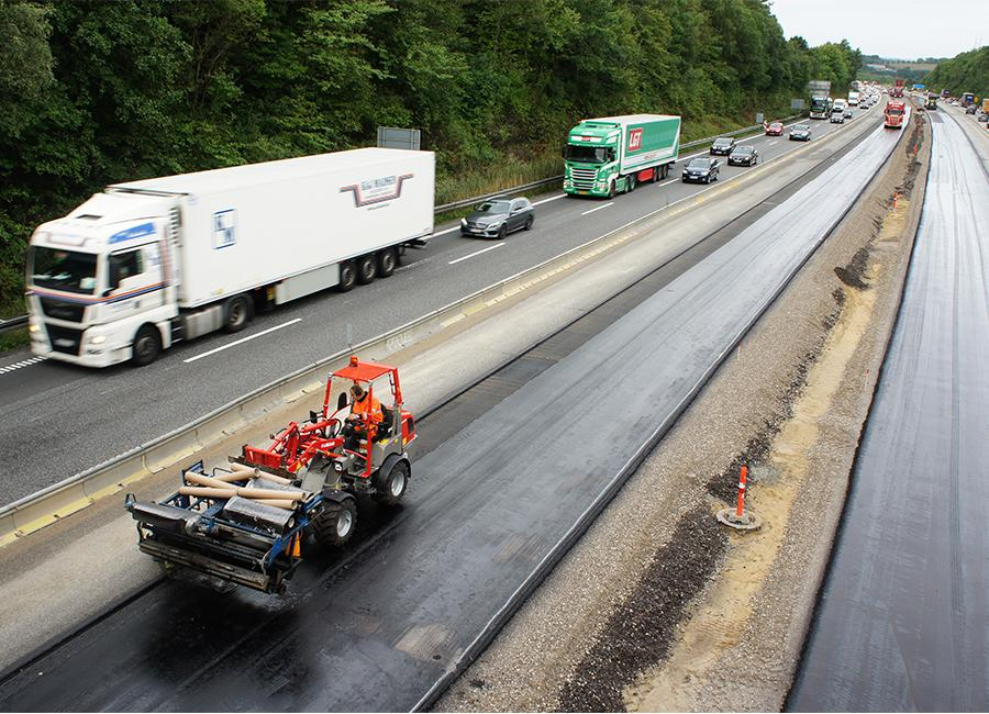 Widening of E45 motorway from Skanderborg to Aarhus
