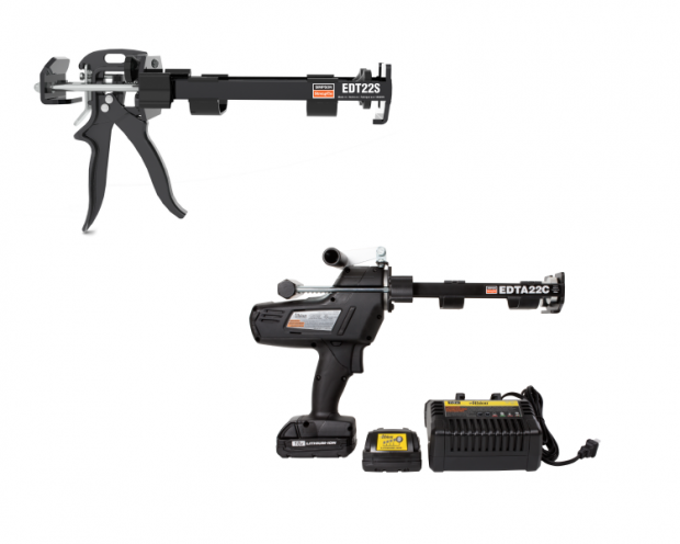 Manual and battery powered dispensing tools
